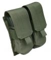 Подсумок двойной для магазинов M4/M16 Green