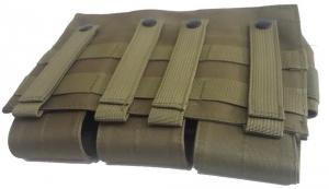 Подсумок тройной для магазинов M4/M16 Green